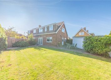 Thumbnail 4 bed semi-detached house for sale in Deridene Close, Stanwell, Staines-Upon-Thames