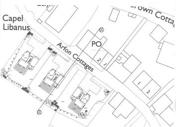 Thumbnail Land for sale in Land Opposite Post Office, Clwt-Y-Bont, Caernarfon