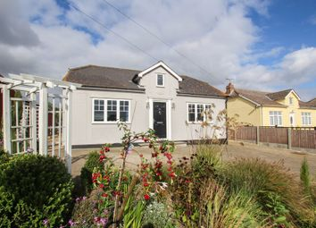 Thumbnail 4 bed detached bungalow for sale in Radwinter Road, Sewards End, Saffron Walden