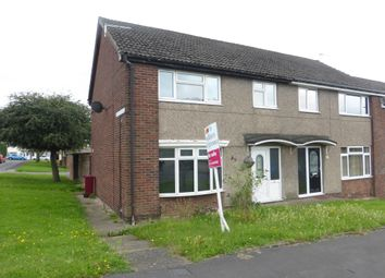 Thumbnail 3 bed end terrace house for sale in Cowper Avenue, Scunthorpe