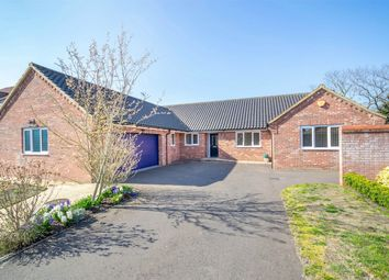 Thumbnail 4 bed detached bungalow for sale in The Paddocks, Mileham, King's Lynn