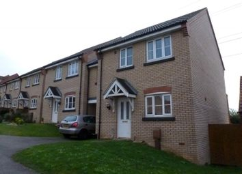 Thumbnail 3 bed end terrace house to rent in Thacker Way, Norwich