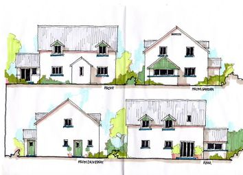 Thumbnail 4 bed detached house for sale in Llangua, Abergavenny