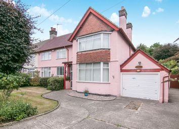Thumbnail 4 bed detached house for sale in Meadway, Spital, Wirral