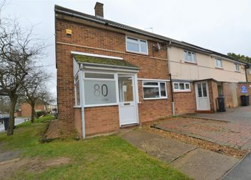 Thumbnail 2 bedroom end terrace house for sale in The Dashes, Harlow