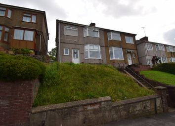 Thumbnail 3 bed semi-detached house to rent in Brynglas Road, Newport