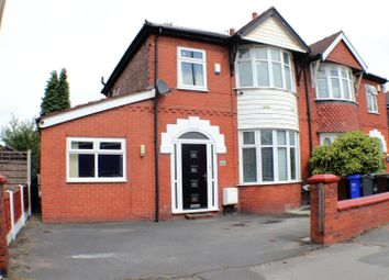 Thumbnail 4 bed semi-detached house for sale in Hyde Road, Debdale Park, Manchester