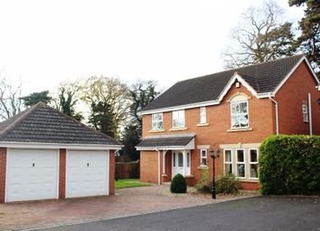 Thumbnail 4 bed detached house to rent in The Firs, Syston, Leicester