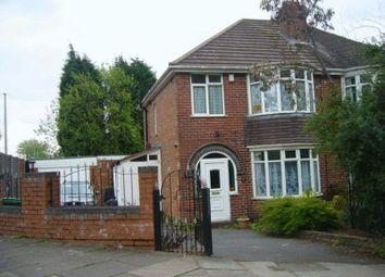 Thumbnail 3 bed semi-detached house to rent in Wolverhampton Road South, Quinton, Birmingham