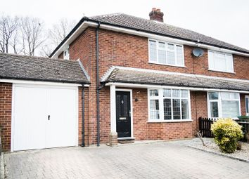 Thumbnail 3 bed semi-detached house for sale in Warborough Avenue, Tilehurst, Reading