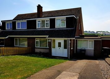 Thumbnail 4 bed semi-detached house to rent in Roselands Drive, Paignton