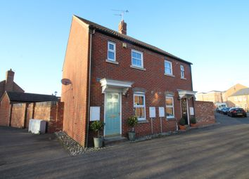 Thumbnail 2 bed semi-detached house for sale in Brimmers Way, Fairford Leys, Aylesbury