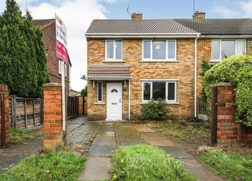 Thumbnail 3 bed semi-detached house for sale in Mayfield Crescent, New Rossington, Doncaster