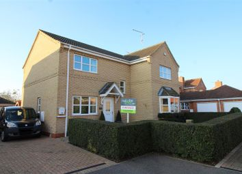 Thumbnail 4 bed detached house for sale in Oxford Gardens, Whittlesey, Peterborough