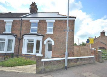 Thumbnail 3 bedroom end terrace house for sale in Sidney Street, King's Lynn