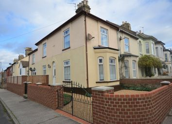 Thumbnail 3 bed end terrace house for sale in Southwell Road, Lowestoft