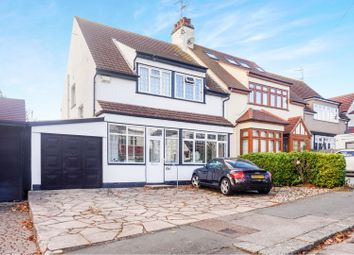 Thumbnail 4 bed semi-detached house for sale in Crescent Road, Leigh-On-Sea