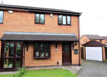 Thumbnail 3 bed semi-detached house for sale in Reeve Close, Handsacre, Rugeley