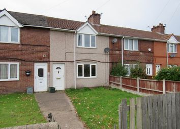 Thumbnail 3 bed terraced house to rent in Streatfield Crescent, Rossington, Doncaster