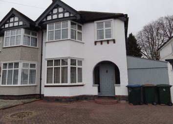 Thumbnail 3 bedroom semi-detached house for sale in Dillotford Avenue, Styvechale, Coventry