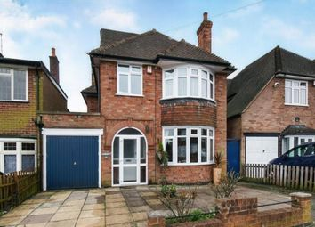Thumbnail 5 bed detached house for sale in Romway Road, Evington, Leicester, Leicestershire