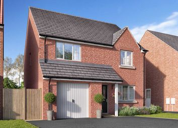 """Thumbnail 4 bed detached house for sale in """"The Goodridge"""" at Spellowgate, Driffield"""