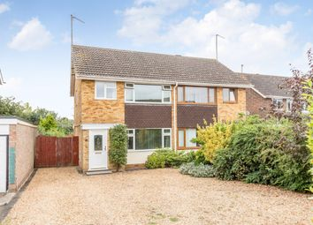 Thumbnail 3 bed semi-detached house for sale in Linden Avenue, Higham Ferrers, Rushden