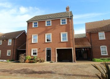 Thumbnail 4 bed detached house for sale in Fairface Way, Milton Keynes