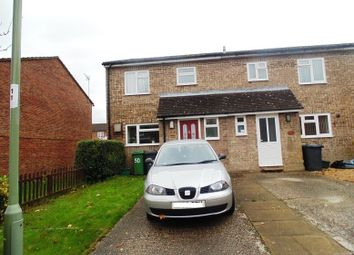 Thumbnail 3 bed end terrace house to rent in Bernstein Road, Basingstoke