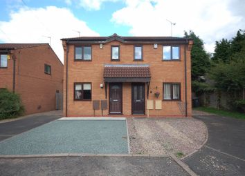 Thumbnail 2 bed semi-detached house to rent in Woodhill Close, Wombourne, Wolverhampton