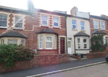 Thumbnail 3 bed terraced house for sale in Manston Road, Exeter