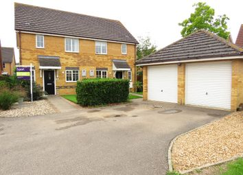Thumbnail 3 bed semi-detached house for sale in Teachers Close, Manea, March