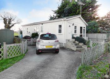 Thumbnail 2 bed mobile/park home for sale in Drayton Lane, Drayton, Chichester