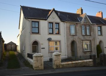 Thumbnail 3 bed end terrace house for sale in Crymych