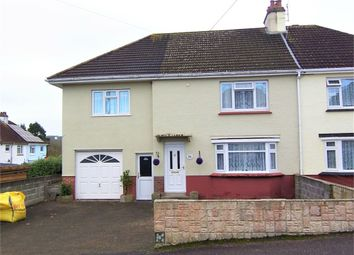 Thumbnail Semi-detached house for sale in Courtenay Drive, Colyton