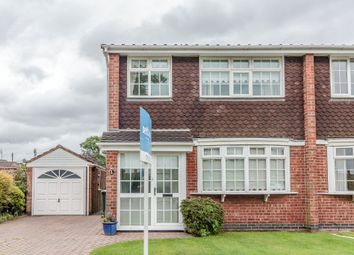 Thumbnail 3 bed semi-detached house for sale in Manderley Close, Coventry, West Midlands