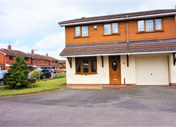 Thumbnail 4 bed detached house for sale in Primrose Close, Pelsall