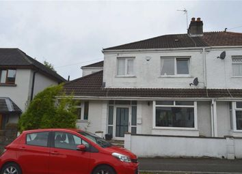 Thumbnail 4 bed semi-detached house for sale in Bude Haven Terrace, Norton, Swansea