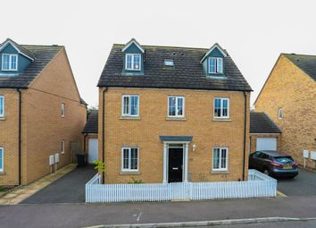 Thumbnail 5 bed detached house for sale in Howards Way, Northampton