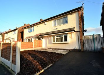 Thumbnail 2 bed semi-detached house for sale in Carrfield Avenue, Little Hulton, Manchester