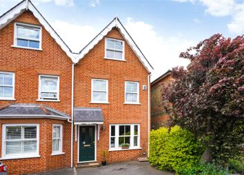 Thumbnail 3 bed semi-detached house for sale in Pemberton Road, East Molesey, Surrey