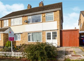 Thumbnail 3 bed semi-detached house for sale in Baycliff Close, Leicester