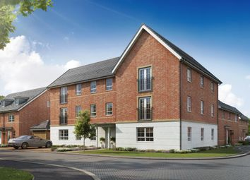"Thumbnail 2 bed flat for sale in ""Ambersham"" at Lake Road, Hamworthy, Poole"