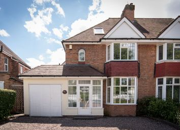 Thumbnail 4 bed semi-detached house for sale in Foxbank, Melford Hall Road, Solihull