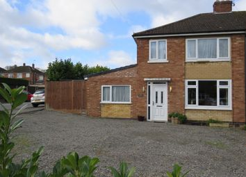 Thumbnail 4 bed semi-detached house for sale in Addison Road, Bilton, Rugby