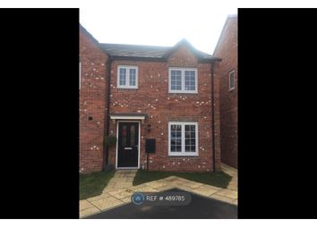 Thumbnail 3 bed semi-detached house to rent in Fairlands Grove, Auckley, Doncaster