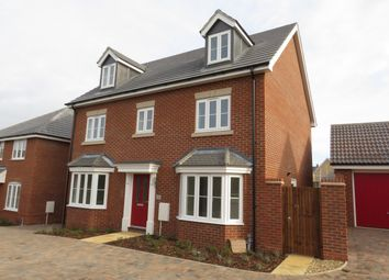 Thumbnail 5 bed detached house to rent in Casey Jones Close, Bury St. Edmunds