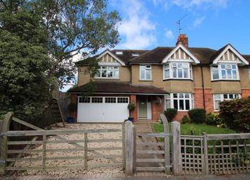 Thumbnail 5 bedroom semi-detached house for sale in Winser Drive, Southcote, Reading