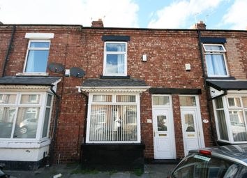 Thumbnail 2 bed terraced house to rent in Falmer Road, Darlington