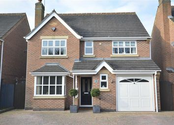 Thumbnail 4 bedroom detached house for sale in Maltby Close, Allestree, Derby